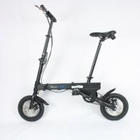 """Size 12"""" Smallest Folding Bike Easy Carry For Exercises / Travel / Commuting"""