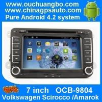 Wholesale Ouchuangbo Car GPS Navi DVD Player for Volkswagen Scirocco /Amarok Auto Radio Android 4.2 System OCB-9804 from china suppliers