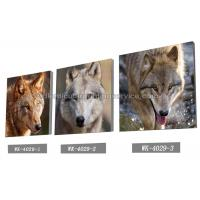 Quality Frameless PET 3d Lenticular Image / Animal 3d Lenticular Christmas Cards For Decoration for sale