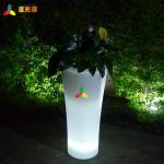Wholesale Lightweight Waterproof Outdoor Garden Decor Led Flower Pot RoHs Standard from china suppliers