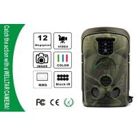 Quality NO Glow Waterproof IP54 Wildlife Camera , GSM MMS GPRS Trail Cameras for sale