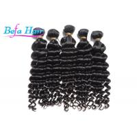 Wholesale Natural Black 10 Inch Mongolian Curly Hair Bundles Virgin Remy Hair Extensions from china suppliers