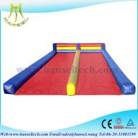 China Hansel high quality outdoor inflatable playground mat on sale
