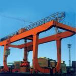 Wholesale 15 Ton 10 Ton Ship Gantry Crane Safety U Model Loading Unloading Flexible from china suppliers