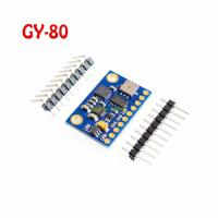 Wholesale 10DOF Nine-Axis Attitude L3G4200D ADXL345 HMC5883L BMP085 Module GY-80 from china suppliers