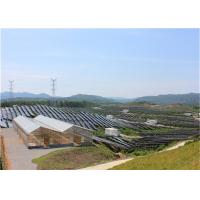 Wholesale Indoor Greenhouse Solar System Farming Innovative Dynamic Photovoltaic Frameless Panel from china suppliers