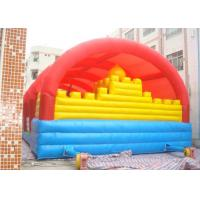Wholesale Rent Inflatable Bouncy Castle For Jumping / Outdoor Inflatable Fun City from china suppliers