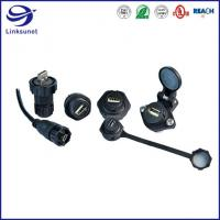 Screw Type, Solder PA USB-A   IP67/IP68   waterproof connector and wire harness for Lighting