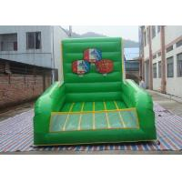 Wholesale Plato PVC Tarpaulin Inflatable Sports Games / Inflatable Basketball Court For Shooting from china suppliers