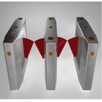 Quality Custom CPSE Pedestrian Flap Gate Turnstile Port Exhibition Hall Barrier for sale