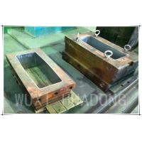 Wholesale Permanent Casting Machine Parts , 200kg Strip Graphite Casting Mold from china suppliers
