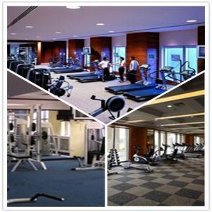 Wholesale Shenzhen GYM/Garage/Hospital/School Plastic PVC Interlocking Flooring Tiles from china suppliers