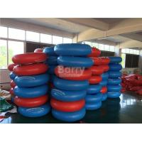 Wholesale Red And Blue Inflatable Water Toys For Kids , Swimming Pool Floats from china suppliers