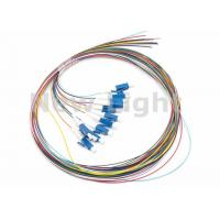 Wholesale LC / UPC SM 12 Core Single Mode Fiber Optic Cable Color Coded Fiber Optic Pigtail from china suppliers