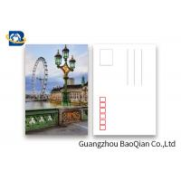 Wholesale The London Eye Pattern Lenticular Postcards , 3D Lenticular Card Tear - Proof from china suppliers