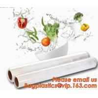 Stretch And Fresh Re-usable Food Wraps Silicone Plastic Stretch Cling Film, Food grade LDPE cling film,LDPE stretch film for sale
