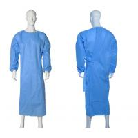 Wholesale Isolation Disposable Medical Gowns , Disposable Plastic Gowns PP Material from china suppliers