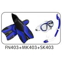 Wholesale Customized Diving Sets Swim Goggles Dive Snorkel Divers Fins from china suppliers