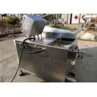 High Pressure Vegetable Cleaning Equipment , 50hz Industrial Vegetable Washer for sale