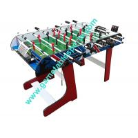 Wholesale 4 FT Folding Soccer Table Wood Foldable Soccer Table For Family Play from china suppliers
