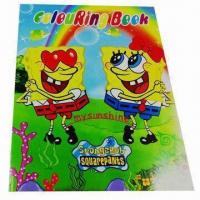 Wholesale Kid's Coloring Book, Customized Designs are Accepted, Eco-friendly from china suppliers