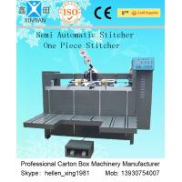 Automatic Counting Paper Feeding Carton Box Packaging Machine , Single / Double Nail