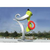 Wholesale Beautiful Design Large Outdoor Metal Sculptures For Public Decoration from china suppliers