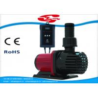 Wholesale 3000L/H high flow solar DC water pump with filter for Fountain and Aquarium from china suppliers