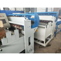 Buy cheap CNC Automatic Wire Mesh Welding Machine 5 - 12mm Wire Diameter For Mesh Panel from wholesalers