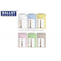 Quality C2S Uncoated Green Ballot Paper , Wood Pulp White Voting Paper With Your Own for sale
