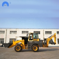 China Cheap Price WZ28-20 Hydraulic Polit control backhoe loader for sale on sale