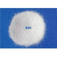 Ceramic Blasting Media Zirconia Beads B80 For Metal Pipe Surface Cleaning for sale