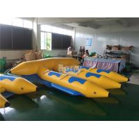Wholesale 0.9mm PVC Tarpaulin Material Gonflable Flyfish Inflatable Flying Fish Water Ski Tube Towable from china suppliers