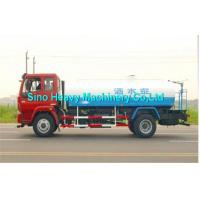Wholesale SINOTRUK Red Water Tanker Trailer 371 Horsepower , 400L Fuel Tank from china suppliers