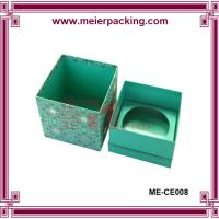 Wholesale Wholesale Green Paper Gift Boxes/Single Tealight Candle Packaging Box ME-CE008 from china suppliers