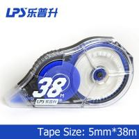 China Large Capacity 38m Office Colored Correction Tape Ultrathin Non Toxic T-9805 on sale