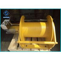 China Industrial Mini Hydraulic Powered Winch Customized Color For Shrimp Boat Truck on sale