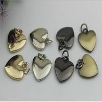 20mm Small love heart shape nickel color metal handbag hanging ornament for sale