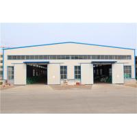 China Gable Frame Light Metal Structural Steel Warehouse / Large Span Plant Buildings for sale