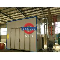 Wholesale Larger Sandblasting Room / Shot Blasting Booth Car Paint Rust Removing from china suppliers