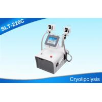 Buy cheap Double Handles Cryolipolysis Slimming Machine For Body Sculpting / Fat Removal from Wholesalers