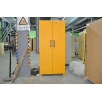 Wholesale Laboratory Grounding Corrosive Chemical Storage Cabinets With Double Vents 90min fireproof safety cabinets from china suppliers