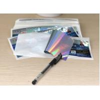 Wholesale PP / PVC paper Clear High Gloss Labels , Custom Self Adhesive Stickers from china suppliers