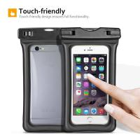 Wholesale Fully Submersible Waterproof Smartphone Case , Small Waterproof Bag With Air - Filled Frame from china suppliers