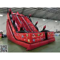 Buy cheap Red Durable Portable Red Backyard Inflatable Water Slides For Shopping Mall from wholesalers