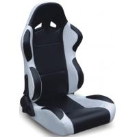 Wholesale Black And Grey Racing Seats Fully Reclinable + Slider Universal 1 Pair Jbr 1004 Series from china suppliers
