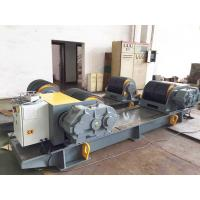 Buy cheap 60 Ton Bolt Adjustment Pipe Welding Rollers,Oil Tank PU Wheel Tank Turning Rolls from wholesalers