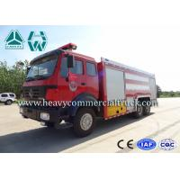 China Northern Benz 10 Tons High Mobility Water Fire Truck , Fire Service Vehicles on sale