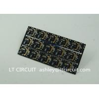 Wholesale Gold Plating Custom Pcb Manufacturing Black Soldering With IC Lead BGA from china suppliers