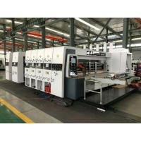 Wholesale HRB-1228 High Speed Lead Edge Feeder Flexo Printer Slotter Die Cutter Easy Operation from china suppliers